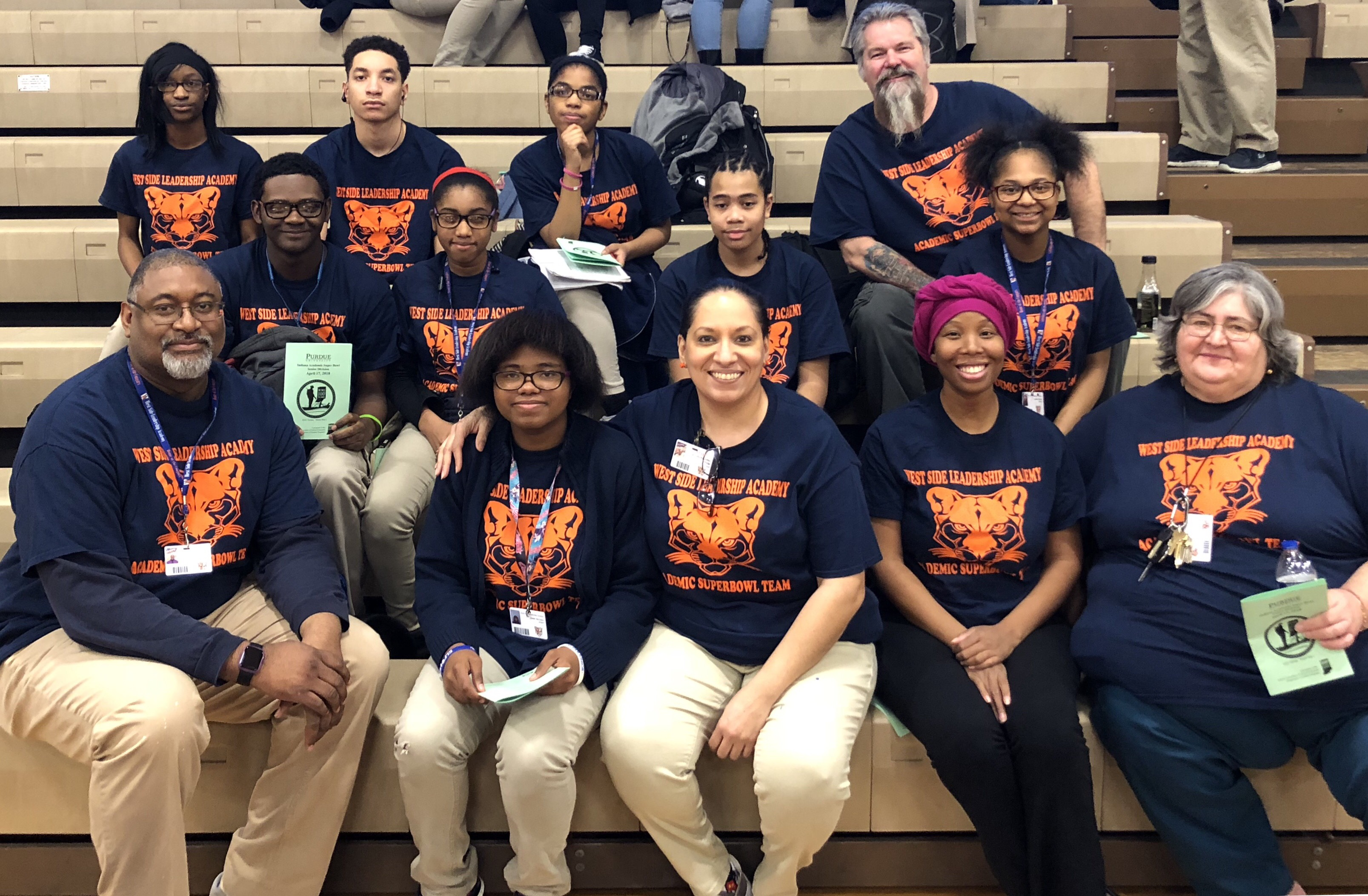 West Side Students Top Competition at Academic Superbowl