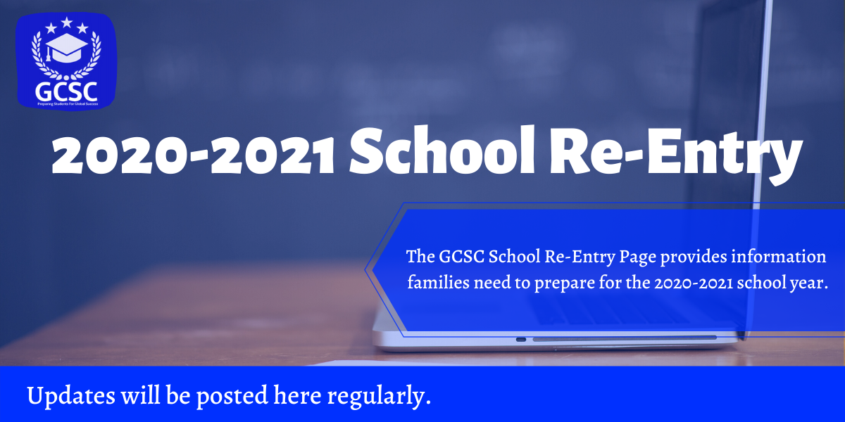 2020-2021 School Re-Entry